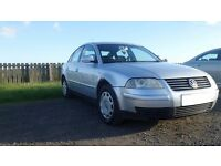 VW Passat 1.9 TDI Highline 2004 - still a good runner but needs repair or could be used for spares
