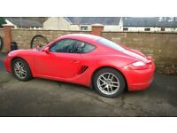 PORSCHE CAYMAN 2.7 COUPE (RED)