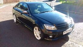 2008 MERCEDES C220 CDI SPORT AUTOMATIC FULL SERVICE HISTORY FAULTLESS