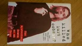 Who Killed Kurt Cobain-Very Rare-Hardcover