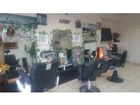 "barbers equipment "" mirror , desk, head wash & 5 barber chairs and more"""