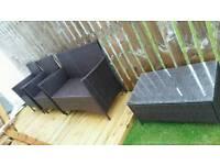 4 Piece Garden Furniture