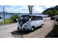 campervan splitscreen 1969 weddings .proms