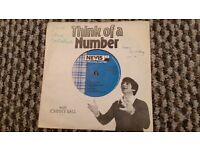 very rare Johnny Ball Think of a number vinyl including the minute waltz