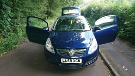 Vauxhall corsa 1.2 ONLY 80000 MILES, 1 PREVIOUS OWNER