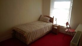 Furnished single room in shared house, near train station, bus route, shops