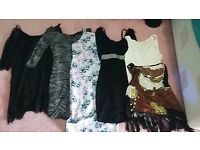 Women's dresses, bodysuits and tops sizes 6-10
