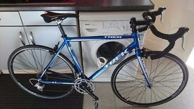 Trek alpha 1.1 road racing bike
