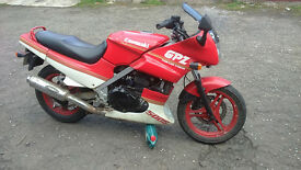 Kawasaki GPZ 500S Jap classic for sale (may good for project) Working, V5 present.