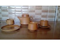 70's Tea Set 21 Piece Perfect Condition