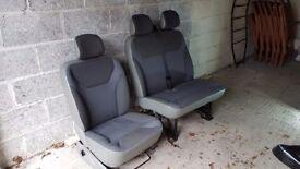 Van Seats - Vivaro/Trafic/Primastar