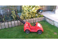 Child's LITTLE TIKES - Mobile Ride-On Push Along Car in Red