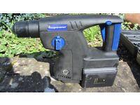 NUPOWER Cordless 28.8v sds hammer drill