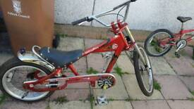 Bikes and go kart. Sensible offers