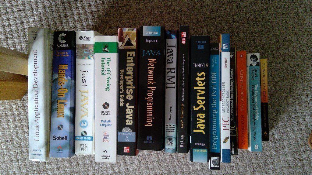 Computer programming Books   in Kidlington, Oxfordshire   Gumtree