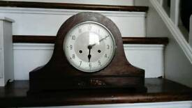 Vintage 1930-1940s Enfield wooden mantle clock