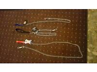 3x dog chains