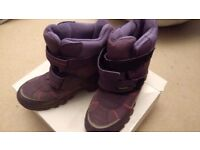 Girls Marks and Spencer Snow boots Size 3 UK