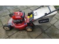 Toro self propelled recycler lawnmower