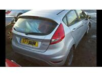 FORD FIESTA EDGE 1.25 FOR PARTS/BREAKING/SPARES/REPAIRS ONLY 2011 IN SILVER