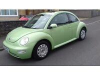 VW Beetle 1390cc 3 Door Hatchback Reg July 2004 Only 74000 miles New MOT