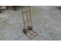 Vintage heavy duty Sack Truck / Hand Trolley