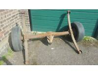 Axle for trailer