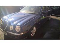 REDUCED FOR QUICK SALE - 2001 JAGUAR S-TYPE V6 AUTO BLUE - 12 MONTHS MOT - LOW MILEAGE