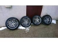 "18"" Honda Delta wheels alloys"