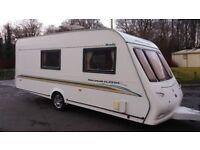 Compass Magnum Classic 2004 4 berth family caravan
