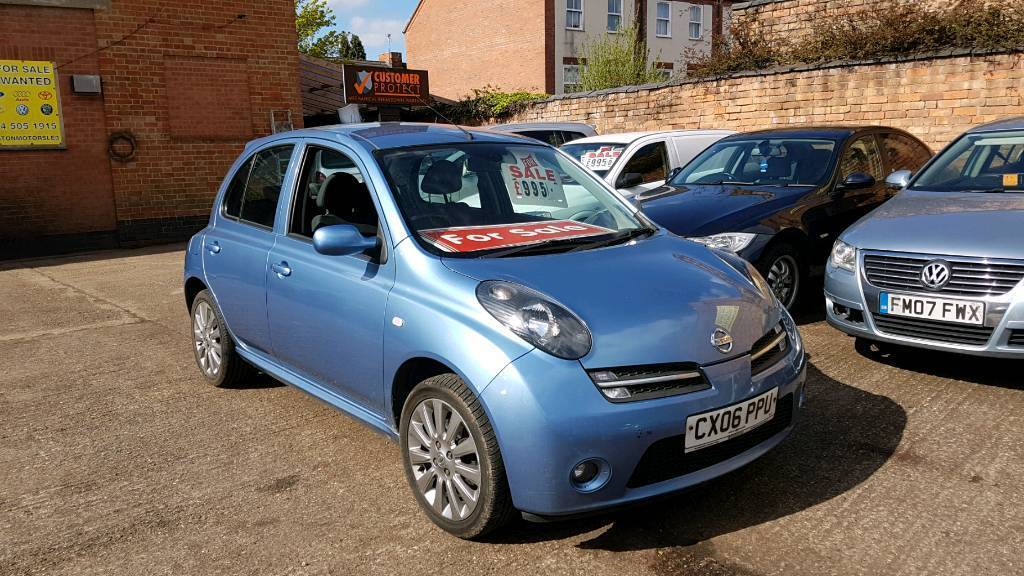 2006 nissan micra 160sr 3 months warranty in leicester leicestershire gumtree. Black Bedroom Furniture Sets. Home Design Ideas