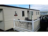 Willerby Sunset 2013 Static Caravan sited at Eyemouth with fees until end of December 2016 - £18000