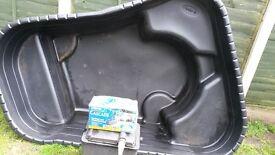 pond pondpump and filterbox