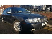 2004 Volvo S80 2.4 TD D5 SE 4dr,MOT TILL JANUARY 2018, AUTOMATIC, DIESEL, FULL LEATHER INTERIOR £995