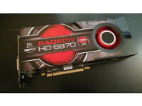 AMD Radeon XFX HD6870 Video Card