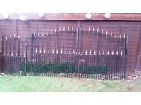 Wrought iron single & double gates