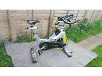 Matrix livestrong with monitor. Spinning bike