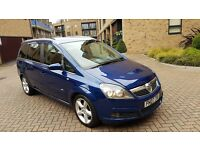 2007 Vauxhall Zafira Sri 1.9 Cdti Diesel Manual 7 Seater