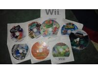 Wii Games - free to Eastwood family! See description