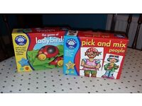 Orchard Toys set of two