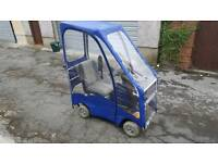 Mobility scooter with rain canopy £550 ono
