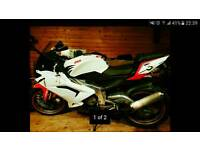 Rs 125 a2 cbt derestricted yzf125r cbr/cbf 125 moped