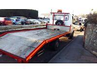 Mercedes Recovery Truck beavertail
