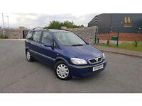 2004 Vauxhall Zafira 2.0 DTI 7 Seater MPV Turbo Diesel FULL MOT Cheap Galaxy Sharan