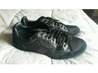 Black firetrap shoes mens sz 8