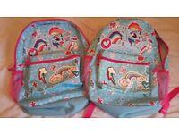George pony backpack x 2