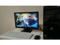 Hp pro PC/monitor/keyboard/mouse/wifi adaptor
