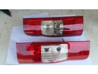 ford transit mk7 2006 on rear lamps lights