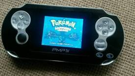 32 bit handheld games console with over 300 top games!