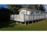 Holiday home at Hoburne Bashley in the New Forest, Hampshire - Static caravan